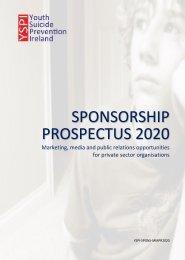 YSPI Sponsorship Opportunities 2019