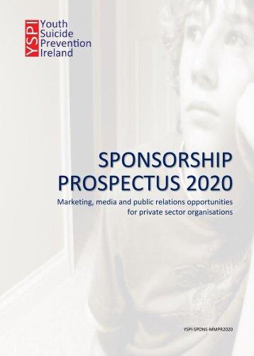 YSPI Sponsorship Opportunities 2020