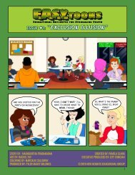 EASYTOONS – EDUCATIONAL ANECDOTES FOR STRUGGLING YOUTH