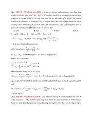 Ngân hàng bài tập trắc nghiệm Hóa Học theo chuyên đề Lớp 11 tách từ đề thi thử 2018 (Có lời giải chi tiết)