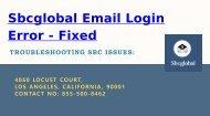 Fixed - Sbcglobal Email Login Error | 855-500-8462