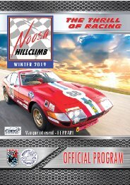 Noosa HillClimb Issue 1
