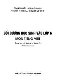 Combo Bồi dưỡng học sinh vào lớp 6 - Tiếng Việt - Toán - Tiếng anh