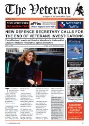 The Veteran - May Issue