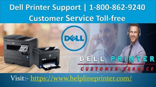 Dell Printer Support Number