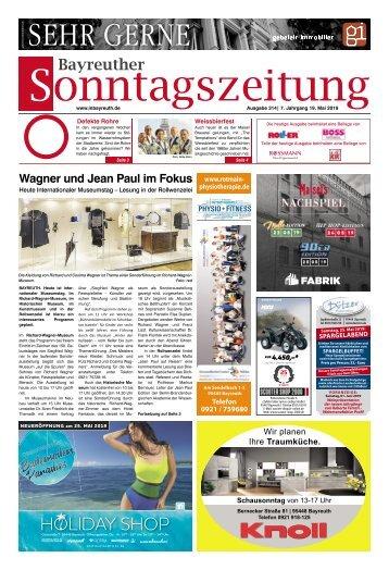 2019-05-19 Bayreuther Sonntagszeitung