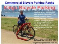 Commercial Bicycle Parking Racks