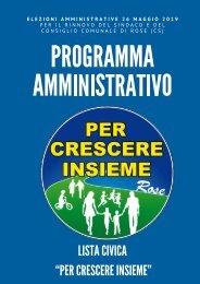 Programma 2019/2024