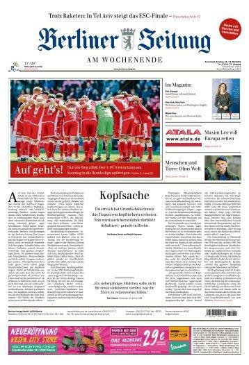 Berliner Zeitung 18.05.2019
