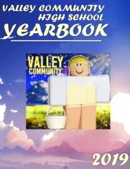 Valley Community High School Yearbook