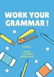 Work Your Grammar!