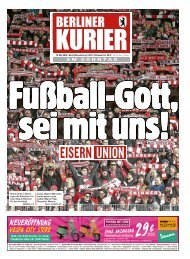 Berliner Kurier 19.05.2019