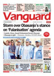 20052019 - Storm over Obasanjo's stance on 'Fulanisation' agenda