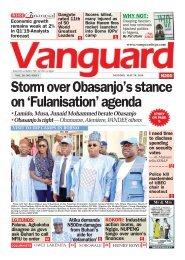 20052019 - Storm over Obasanjo's stance on 'Fulanisation' agenda