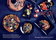 Ascot Wholesale | Leading Catering Equipment and Bar Supplies