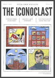 The Iconoclast Spring 2019