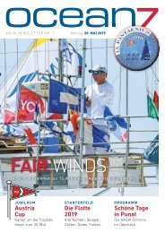 Alpe Adria Sailing Week 2019 – Tag 1, 20.5.