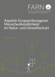Aspekte gruppenbezogener Menschenfeindlichkeit im Natur- und Umweltschutz