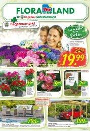 Floraland Hagebaumarkt KW 21