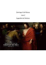 Domingo II da Pascoa - Ano C
