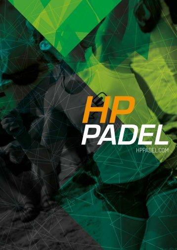 CATALOGO HP PADEL