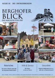 Berghofer Blick 2019-2