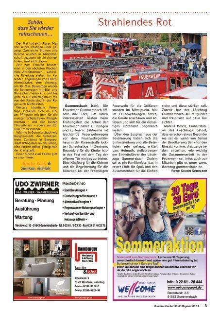 Gummersbacher Stadt-Magazin - Mai/Juni 2019