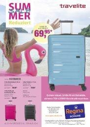 Travelite Flyer Regina Mai 2019