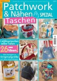 Patchwork & Nähen SPEZIAL Taschen 04/2019