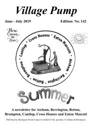Berrington Village Pump Edition 142 Jun - Jul 2019