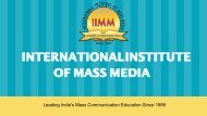 Best Mass Communication Colleges in Delhi