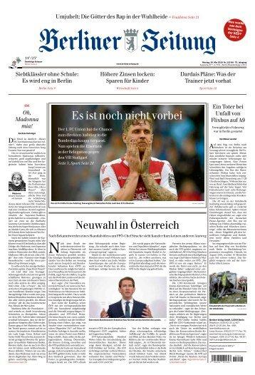 Berliner Zeitung 20.05.2019