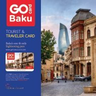 GoCard Baku - Square Portfolio Brochure