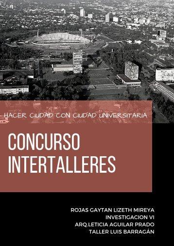 CONCURSO INTERTALLERES