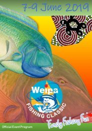 Weipa Fishing Classic Official Event Program