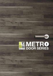 Metro Door Catalogue