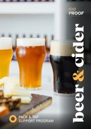 WA Sales Guide - Beer & Cider Essentials