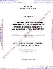 XÂY DỰNG VÀ SỬ DỤNG HỆ THỐNG BÀI TẬP VỀ SẮT VÀ HỢP CHẤT CỦA SẮT NHẰM NÂNG CAO NĂNG LỰC LĨNH HỘI KIẾN THỨC HÓA HỌC CHO HỌC SINH LỚP 12 TRUNG HỌC PHỔ THÔNG