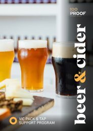 VIC Supplier Guide - Beer & Cider Essentials