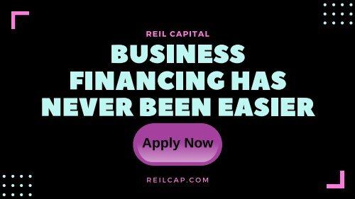 REIL Capital Best Small Business Loans