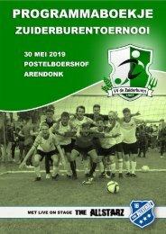 Programmaboekje Zuiderburentoernooi 2019