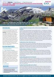 Entdecken Sie das Salzburger Land