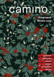 Camino Programm Herbst 2019