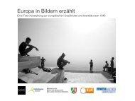 Wanderausstellung Europa in Bildern erzählt (Exposé)