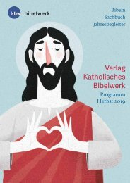 Verlag Kath. Bibelwerk Programm Herbst 2019