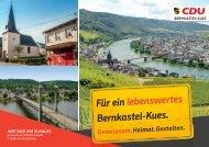 Kommunalwahl Bernkastel-Kues - Kandidaten Stadtrat Bernkastel-Kues