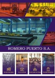 CATÁLOGO A4 ROMERO PUERTO 2019