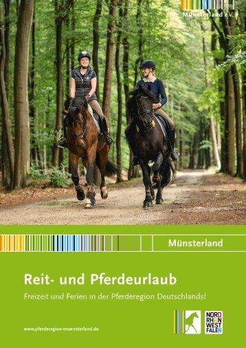 Katalog Reiten im Münsterland