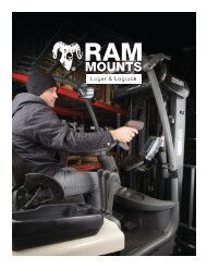 RAM Mounts Lager und Logistik Katalog