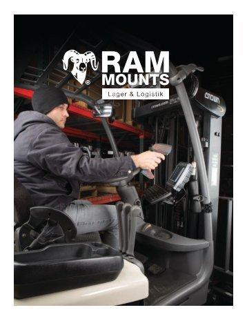RAM Mounts Lager und Logistik Katalog